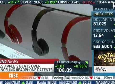 News video: Bose Suing Beats Over Noise-Canceling Headphones Patent