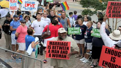 News video: Same-sex Marriage Ban Struck Down For Miami Area